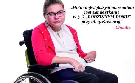 """Kto czeka na """"RODZINNY DOM""""? – Claudia"""